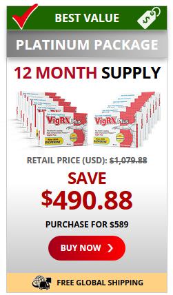VigRX Plus 12 months supply
